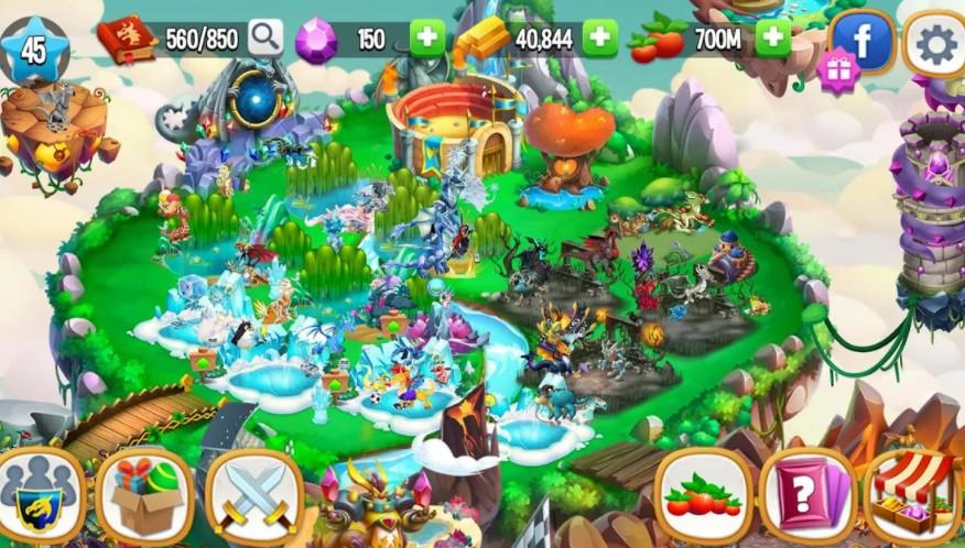 Dragon City mod 2020