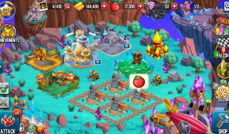 dragon city mod apk free 2020